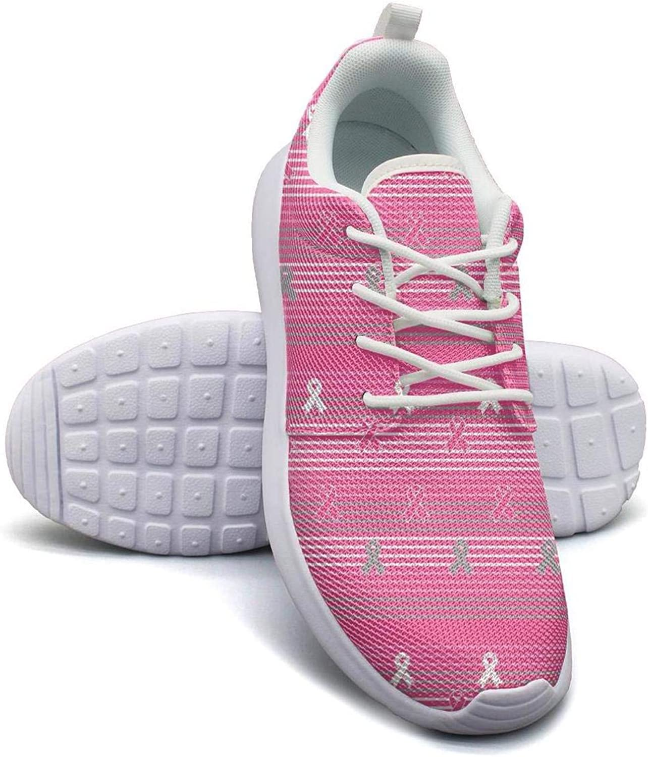 Women's Athleisure Sneakers FCUK Cancer Funny Cancer Survivor Ultra Lightweight Breathable Mesh Christmas Fashion shoes