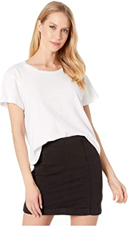 Essential Cotton Shaden Crew Neck Top