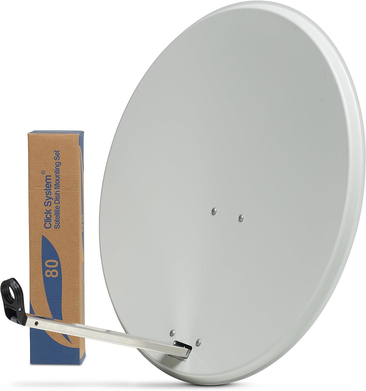 Plato de antena parabólica para satélite, para señales de TV ...