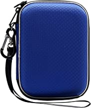 Lacdo EVA Shockproof Carrying Case for Western Digital My Passport Studio Ultra Slim Essential WD Elements SE 1TB 2TB 4TB 5TB USB 3.0 Portable External Hard Drive Travel Case Storage, Large Size Blue