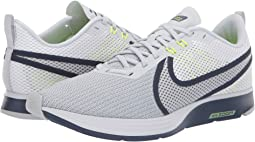 huge selection of da647 4198e White Pure Platinum Thunder Blue Volt. 71. Nike. Zoom Strike 2 Running Shoe