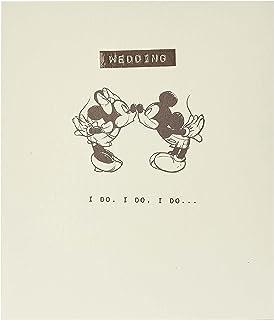 Karta ślubna - kartka ślubna z gratulacjami - Karta Myszki Miki i Minnie na ślub, Wesołego ślubu, kartka miłosna, idealna ...