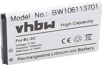 para monitor de beb/és SCD625 SCD630//26 vhbw Bater/ía li-on 3000mAh 3.7V SCD620//26 SCD833. vigilabeb/és Philips Avent SCD620