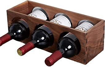 Wine Rack Wine Rack Wooden Wine Rack Wine Storage Shelf Standing Bottles Display Perfect For The Kitchen Cellar Basement P...