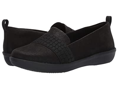 Clarks Ayla Sloane (Black Synthetic Nubuck) Women