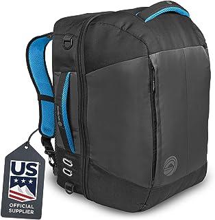 Wildhorn Brimhall Ski Boot Bag - US Ski Team Official Supplier- Premium Durable Travel Backpack for Ski & Snowboard Boots, Helmets, Goggles & Outerwear
