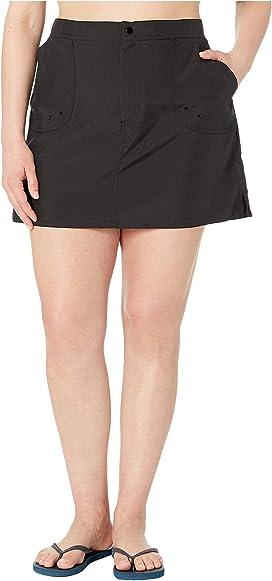 040df85346 Maxine of Hollywood Swimwear Plus Size Solids Woven Boardshorts ...