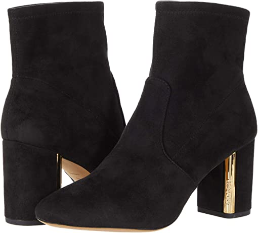 COACH Margot Suede Bootie,Black