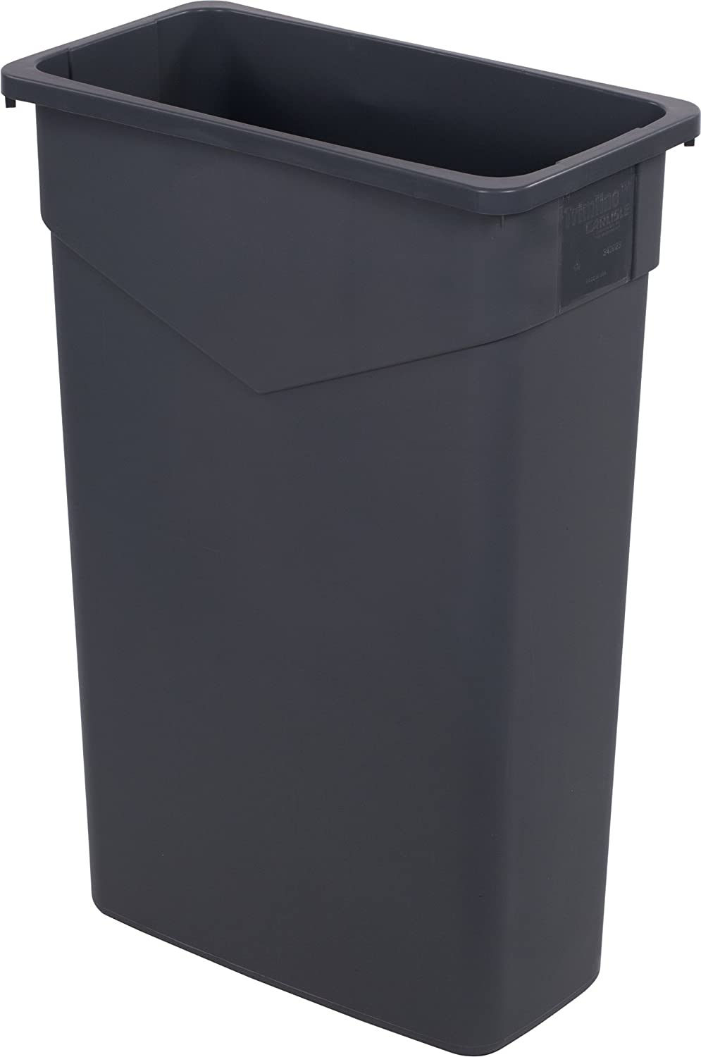 Carlisle 34202323 TrimLine Discount mail order cheap Rectangle Waste O Container Trash Can