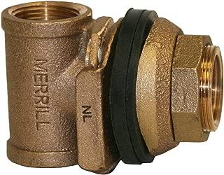 Merrill MFG MBNL60 No Lead Bronze Pitless Adapter, 1