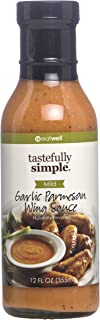 Tastefully Simple Garlic Parmesan Wing Sauce - 12 Fl oz