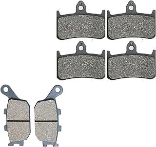 Semi-metalicas Pads De Zapatas De Frenos fit for Street Bike CBR900 CBR900RR CBR 900 CC 900cc RR Fireblade SC28 G034 92 93 1992 1993 6 Pads