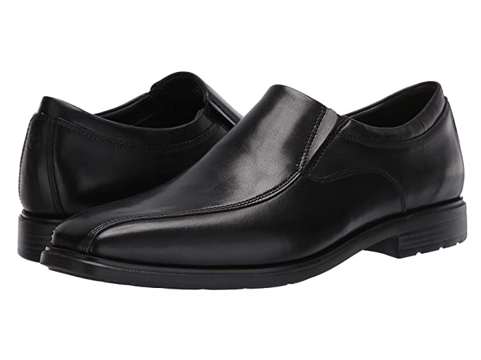 Rockport  DresSports Business 2 Slip-On (Black Glass) Mens Shoes