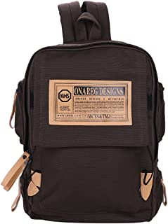 Basic Backpack Off to College Canvas Travel Backpack Casual Pack for Men Women