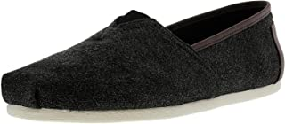 TOMS Men's Classic Canvas Slip-On, Charcoal