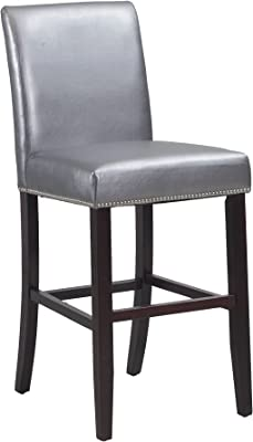 Fine Amazon Com Safavieh Mercer Collection Seth Clay Leather Bralicious Painted Fabric Chair Ideas Braliciousco
