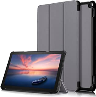 A-BEAUTY Case for Amazon Fire HD 10/Fire HD 10 Plus (11th Gen 2021 Release), Slim Smart Folding Stand Cover with [Auto Sle...