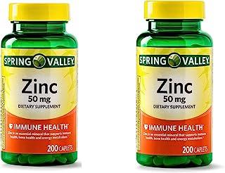 Spring Valley - Zinc 50 mg, 200 Ct (2)