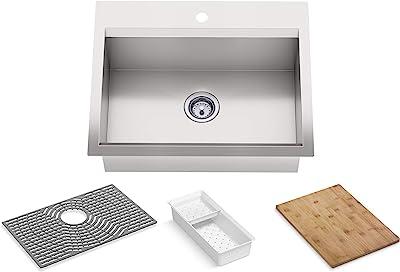 Kohler 80086-1PC-NA Task Kitchen Sink