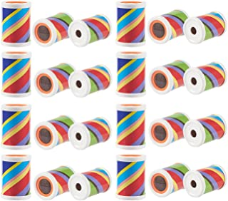 Blue Panda 24-Pack Prism Scope Set - Mini Plastic Prism Tubes, Great Birthday, Halloween Party Goodie Bag Favors, Trick or Treat Toys, Gifts for Children, 2.5 x 1.75 x 1.75 inches