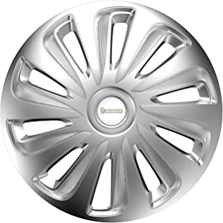 MICHELIN 92006 Wheel Trim Set, Model 34, Set of 4, 38.10 cm (15 inches) with Reflector System N.V.S, Silver - Set of 4