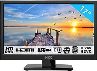 HKC 17H2 LED TV (17 Pouces HD TV) CI+, HDMI+USB, Triple Tuner, 60Hz, Mediaplayer,..