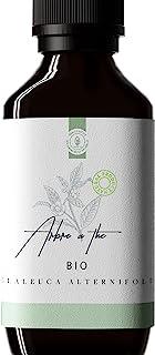 50ml Huile Essentielle Tea Tree BIO (Arbre à thé/Melaleuca alternifolia) - 100% Pure, Naturelle et Biologique - Embouteill...