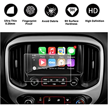 PcProfessional Screen Protector for 2018 2019 GMC Terrain Terrain Denali 8 Touch Screen Display Navigation System High Clarity Anti Scratch Filters UV Set of 2