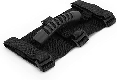 lowest lebogner Car Grab Handles, 2 Pack Rolls Bar Paracord Hand Grips with 3 Connection Points, Parts Compatible for Jeep Wrangler TJ YJ JK, outlet online sale 1987-2021 Models, Interior discount Accessories, Durable Quality sale