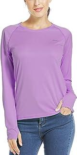 Willit Women's UPF 50+ Sun Protection Shirt Long Sleeve SPF UV Shirt Hiking Outdoor Top Lightweight