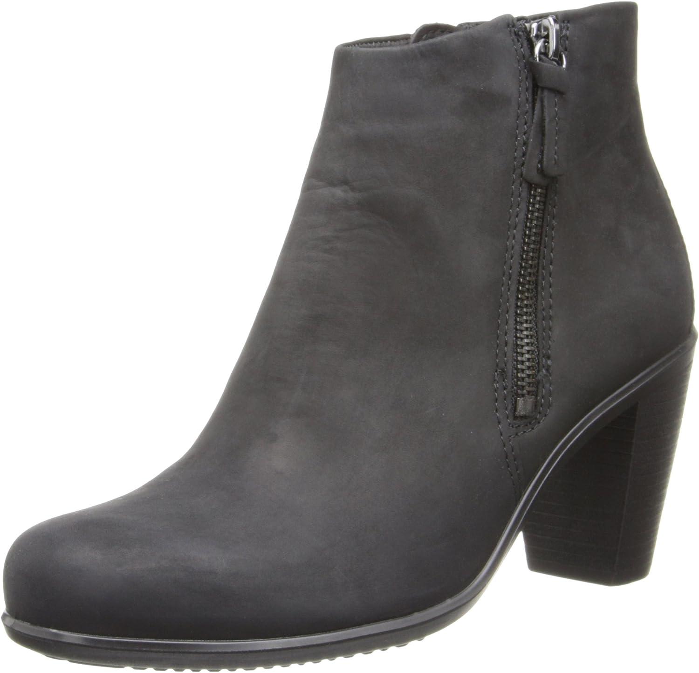 Ecco ECCO Touch 75B, Damen Halbschaft Stiefel, Schwarz (schwarz 02001)  | Qualitativ Hochwertiges Produkt