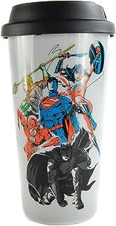 Justice League Travel Mug Team Half Moon Calici Tazze
