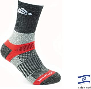 Native Planet Heat Merino Wool Winter Hiking Outdoor Socks, Cold Weather, Antibacterial Coffee Charcoal Yarn, Unisex