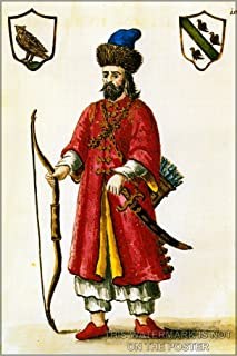 16x24 Poster; Marco Polo Tartar Costume