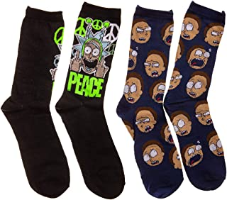 Rick and Morty Peace 2-Pack calcetines