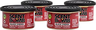 Scent Bomb - Eco Friendly, Organic Air Freshener for Home, Office & Car Air Freshener - 1.5oz, Pack of 4 (Black Cherry)