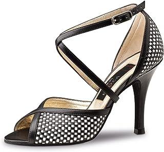 47cf3a729e28 Nueva Epoca – Simona Tango/Salsa Chaussures de danse femme – cuir – noir/