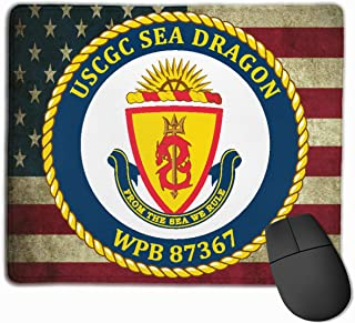 USCGC Sea Dragon WPB 87367 Mouse Pads Non-Slip Gaming Mouse Pad Mousepad