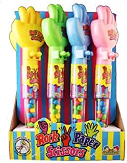 Kidsmania Rock Paper Scissors, 24 Count (SUGAR CANDY - NOVELTIES/KIDS)