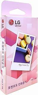 LG Pocket Photo Printing Paper Zink 30 sheet (10 sheet x 3 pack)
