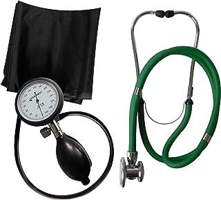 Tensiómetro electrónico de brazo profesional Tiga Pro 1nuevo garantía K 1Rappaport verde estetoscopio de doble cabezal de Tiga Med