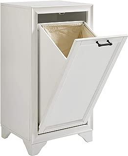 Crosley Furniture CF7009-WH Tara Linen Hamper, Vintage White