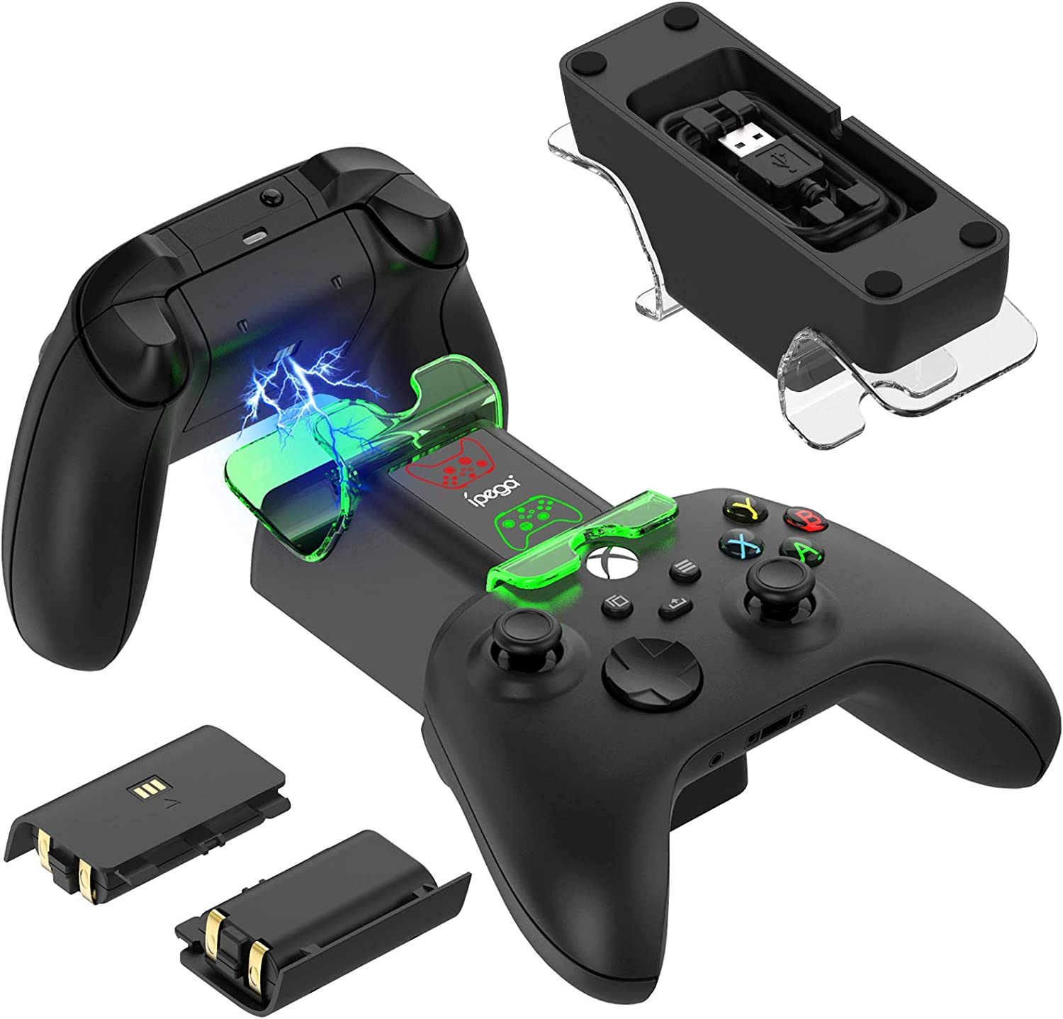 Controller Charger Dock for Xbox Series X/for Xbox Series S with