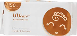 UUcare Crown Antibacterial Pantyliner 150mm, 40ct