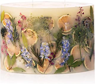 Rosy Rings Limited Edition Oval Botanical Candle - Roman Lavender