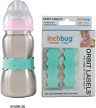 InchBug (4 Pack) Orbit Labels Personalized (Cool Mint)