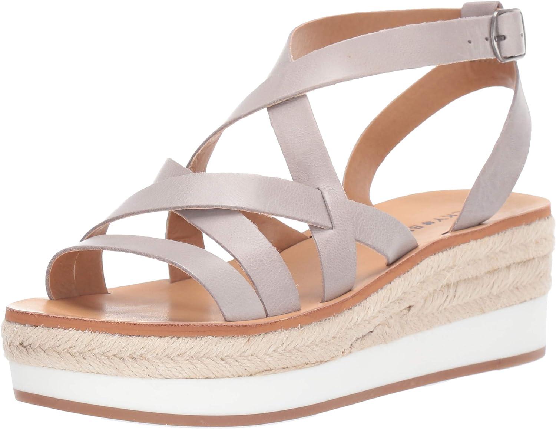 Lucky Brand Womens Jenepper Wedge Espadrille Wedge Sandal