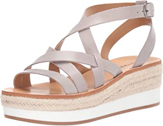 Lucky Brand Womens Jenepper Espadrille Wedge Sandal