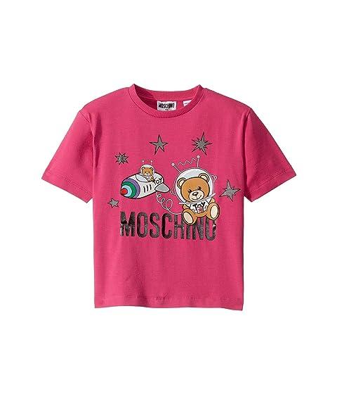 Moschino Kids T-Shirt w/ Space Toy Bear (Little Kids/Big Kids)