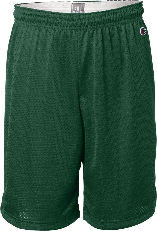 ChampionPolyester Mesh Shorts   , ATHLETIC DARK GREEN